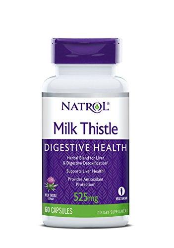 Natrol Milk Thistle Advantage V-Caps, 525mg, 60 Count
