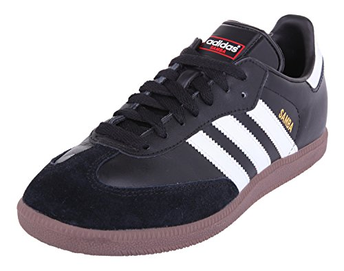 adidas Originals Samba, Baskets mode homme, Noir/Blanc/Gomme, Noir (Black/White), 42 2/3 EU
