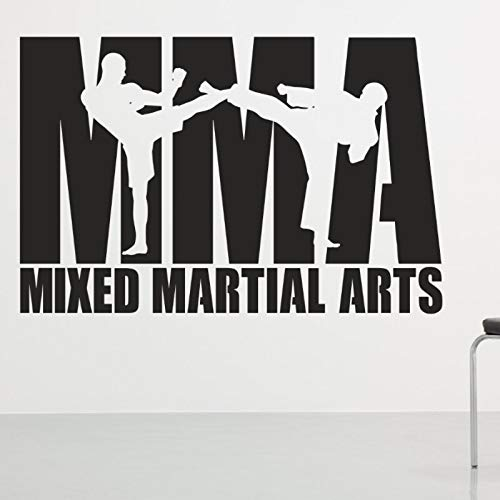 Baobaoshop Boxing Club MMA Taekwondo Karate Tag Kick Auto Aufkleber Combat Free Poster Der Angreifer Wall Decoracion 58x89cm