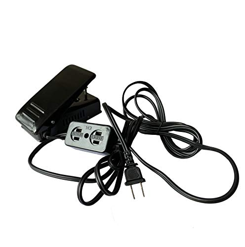 Universal Foot Control Pedal W/Light & Motor Block FC143 For Home Sewing Machine