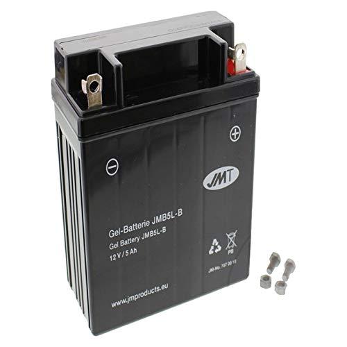 YB5L-B Gel Batterie für Sfera 80 Baujahr 1991-1996 von JMT