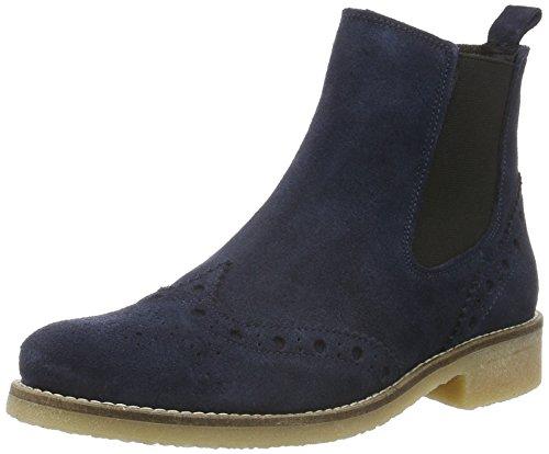 SPM Budapester Chelsea-Boots Valla 62326588 Blau, Sohle beige