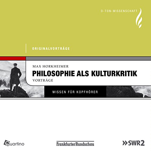 Philosophie als Kulturkritik audiobook cover art