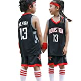 con bolsa de baloncesto James Harden #13 para hombre malla de baloncesto Swingman sin mangas Juego de baloncesto de Houston Rockets unisex