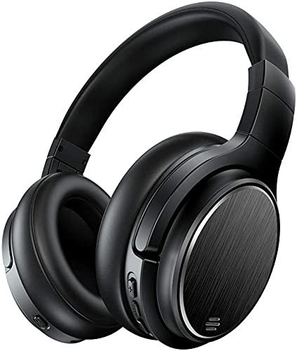 CPBY Reducción de ruido inalámbrico HiFi Bass tridimensional 50 horas corriendo auriculares adecuados para teléfono PC TV Tablet