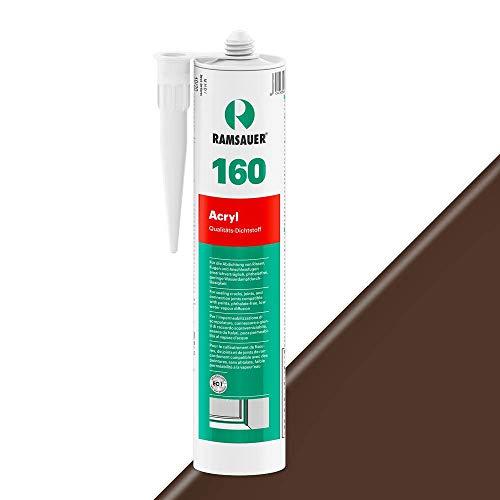Ramsauer 160 Acryl 1K Acryl Dichtstoff 310ml Kartusche (Dunkelbraun)