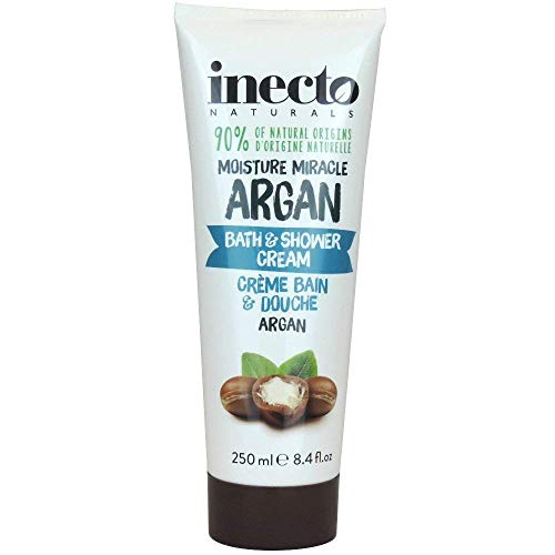 Inecto Naturals Bath und Shower Cream Argan, 1er Pack (1 x 250 ml)