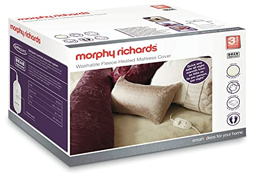 Morphy Richards 620013 Luxury Fleece 4 Heat...