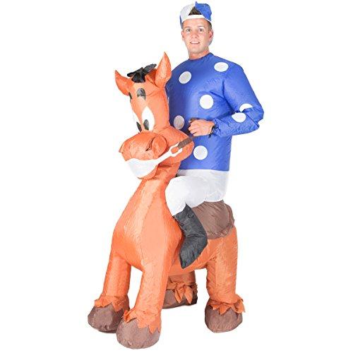 Bodysocks Disfraz Hinchable de Jockey Adulto