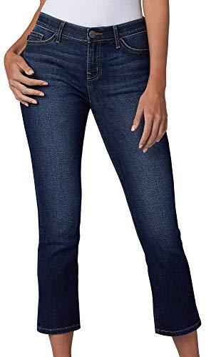 Lee Women's Flex Motion Regular Fit 5 Pocket Capri Jean, Bewitched, 6