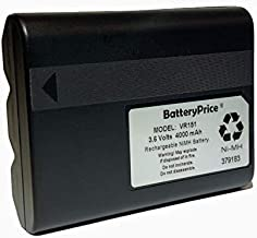 BatteryPrice VR151 High Capacity 4000mAh NiMH Battery. Direct Replacement for Juniper Allegro CX Battery 12523.