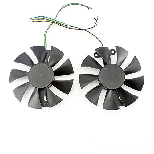 85mm 4pin refrigerador del refrigerador Reemplazar para Zotac GTX1060 6GB GTX1050 TI Fan GTX1050TI GTX 1060 Tarjeta de gráficos Ventilador de enfriamiento GA91S2H
