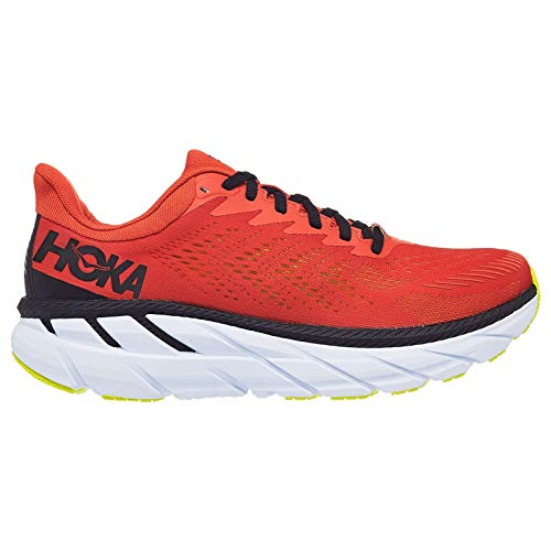 Hoka One Men's Clifton 7 Chili/Black Sneakers