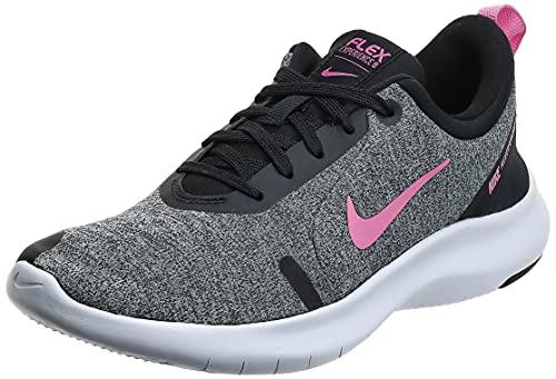 Nike Women's Flex Experience Run Shoe, Pure Platinum/Psychic Pink/Black, 8 Regular US