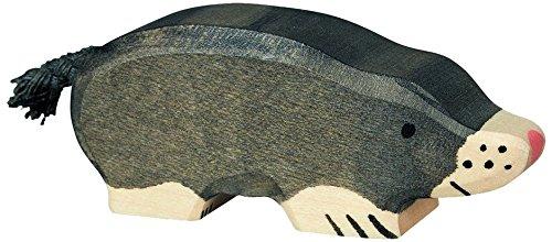 Holztiger 80542 - Spielfigur - Maulwurf