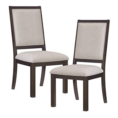 Lexicon Dining Height) Chair (Set of 2), Espresso