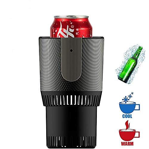 FUTNTCTL 12 V draagbare mini-koelkast elektrische zomer drankkoeler waterkoker drinken direct koeling kopje auto koeler vrieskast drank/bier/wijnkoeler (kleur: grijs)