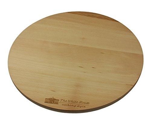 EFO The White House Style de cuisine rotatif tournant Lazy Susanc, planche à pizza 35cm