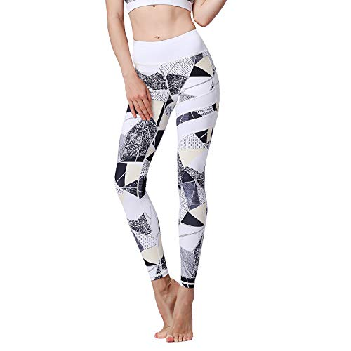 FZmix Women Sport Pants High Waist Yoga Fitness Leggings