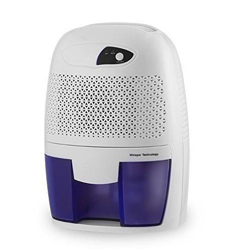 Dehumidifier, COZIME 500ml Mini Portable Quiet Air Dehumidifier Compact Thermo-Electric Peltier Moisture Absorbe for Living Room, Bathroom, Kitchen, Closet,Basement, Attic