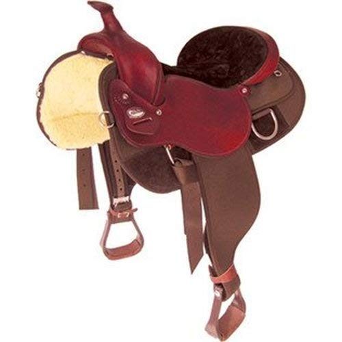 "Fabtron New Light Weight Draft Horse Western Saddle 17"" Size Seat"