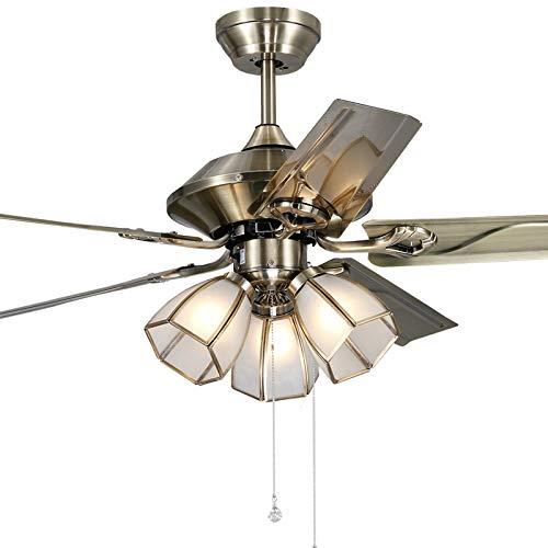 Ventilateurs de plafond avec lampe intégrée Éclairage De Ventilateur De Plafond Télécommande À LED, Éclairage De Ventilateur De Plafond Salon Avec Éclairage De Ventilateur De Lampe Éclairage De Ventil