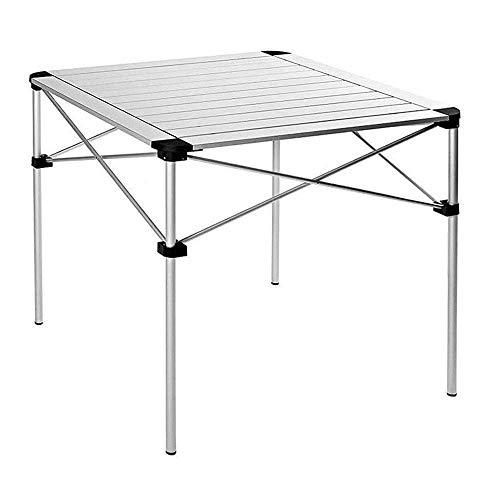 N/Z Tägliche Ausrüstung Leichter Klappstuhl Klapptisch aus Aluminiumlegierung Picknicktisch Superleichter tragbarer Mini-Grilltisch im Freien Klapptisch