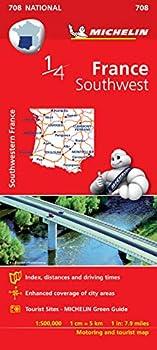 Mapa National France Southwest  Mapas National Michelin