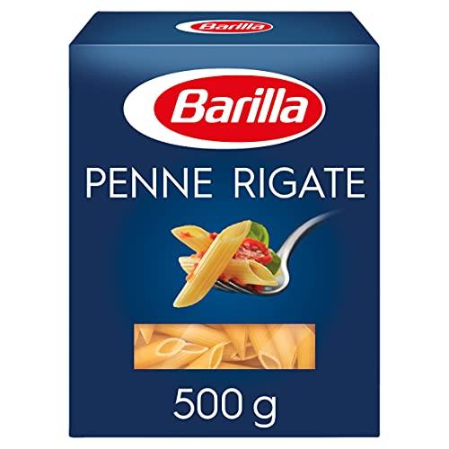 Barilla Pasta Penne Rigate N.73, Pasta Corta di Semola di Grano Duro, I Classici, 500g