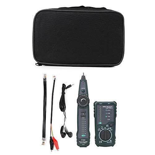 RJ45 RJ11 LAN Kabel Tracker Kit, Kabelfinder Kabeltester Leitungssucher, FY868 Netzwerk Telefon Cable Tester