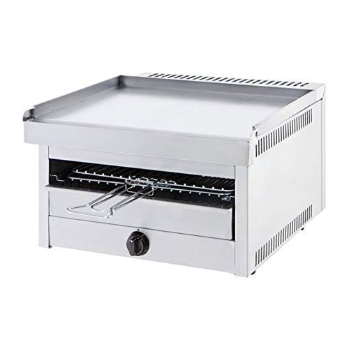 IL BRACERE Barbecue da Incasso Modello Shark 50 Inox, Funziona a Gas METANO