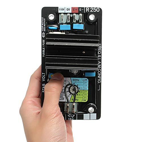 Repuesto automático de regulador de voltaje de AVR R250 para el generador de Leroy Somer