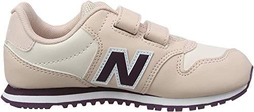 New Balance Yv500v1, Baskets Fille, Rose (Pink/Purple Pink/Purple), 35 EU