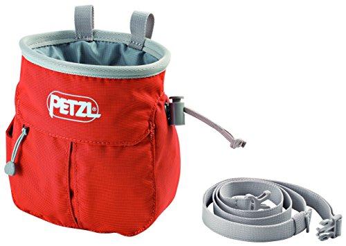 PETZL Erwachsene sakapoche Magnesiumtasche, rot, One Size