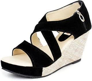 Kanchan Women's Wedges Sandal