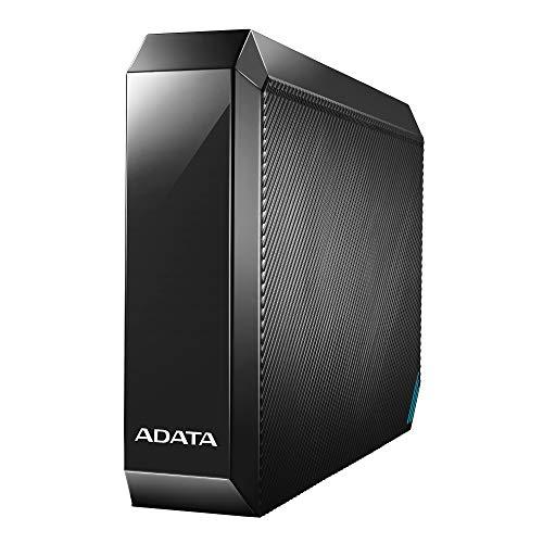 ADATA 外付けハードディスク 4TB テレビ録画 PC PS4 4K対応 USB 3.2 Gen1 ブラック AHM800U3204TEC