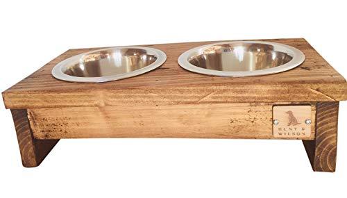 Hunt & Wilson Hundebett, Holz, handgefertigt