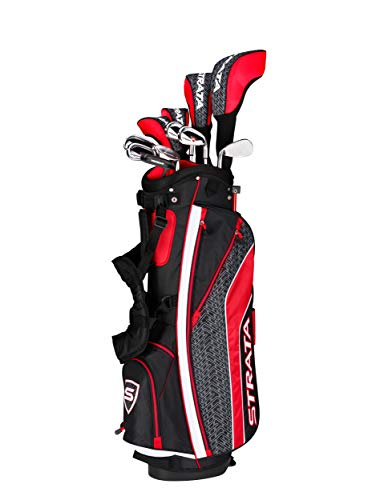 Callaway Men's Strata Tour Complete Golf Set (16-Piece, Right Hand, Stiff Flex)