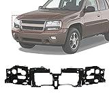 Make Auto Parts Manufacturing Header Panel Nose Black For Chevrolet Trailblazer EXT 2002 2003 2004 2005 2006 - GM1221125