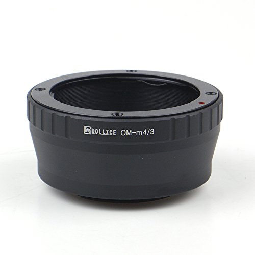 Dollice Adaptador de lente para Olympus OM a Micro Cuatro Tercios Cámara...