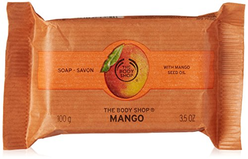 The Body Shop Mango Soap, 3.5 Ounce (Packaging May Vary)