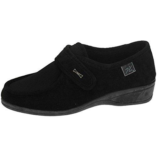 Doctor Cutillas 771 - Zapato Velcro Licra Negro, color negro, talla 38