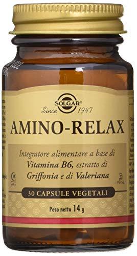 Solgar Amino Relax Integratore Alimentare 30 Capsule