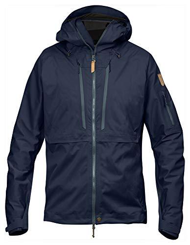 Fjällräven Herren Keb Eco-Shell Outdoorjacke, Blau (Dark Navy), XL