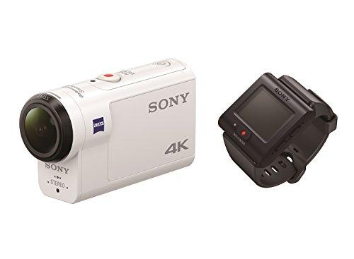 Sony FDR-X3000R 4K Action Cam mit BOSS Live View Remote Fernbedienung – weiß - 6