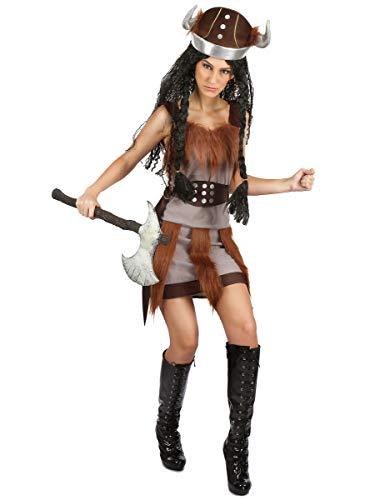 Generique - Disfraz Vikingo para Mujer S