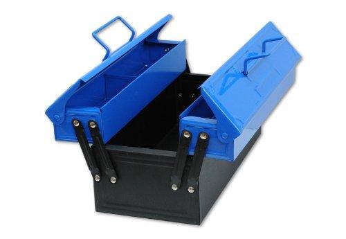 Corvus A 600 029 - Kids at Work Metall-Werkzeugkasten, blau