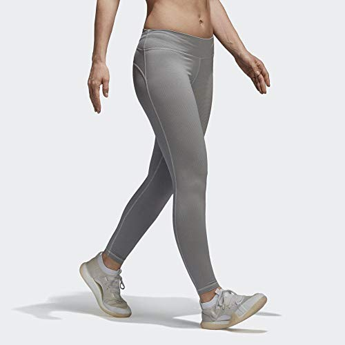 adidas Damen Believe This Regular-Rise Heathered 7/8 Tights - 6