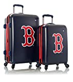 Boston Red Sox Officially Licensed Boy's 2pc Set Wheeled Luggage