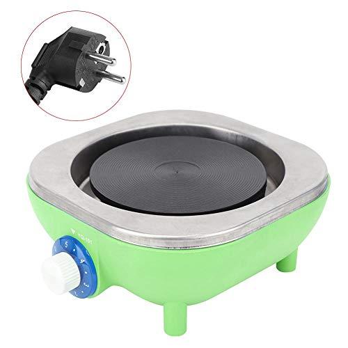 Parluna Elektroherd, hoher thermischer Wirkungsgrad 500 W Schnelle Erwärmung Praktischer Haushaltsofen mit hoher Oberflächentemperatur für Jungenkinder(Green)